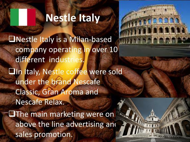 Nestle Italy