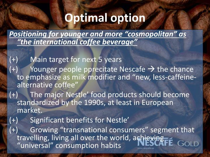 Optimal option