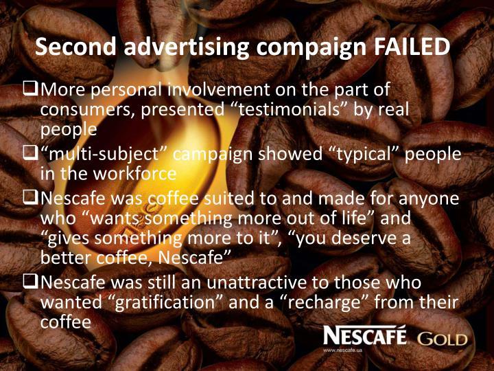 Second advertising