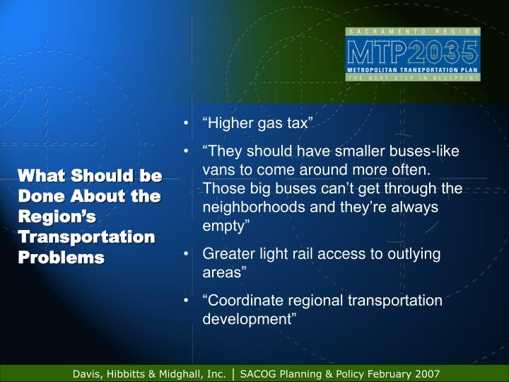 """""""Higher gas tax"""""""