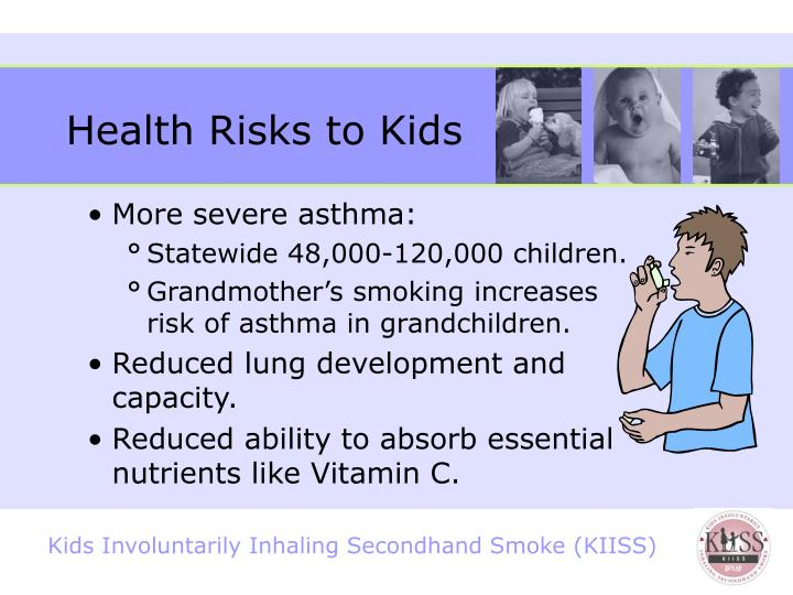 Health Risks to Kids