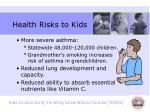 health risks to kids1