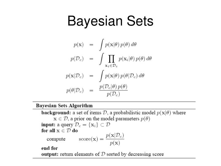 Bayesian Sets