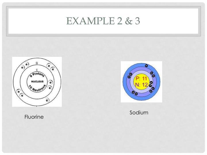 Example 2 & 3