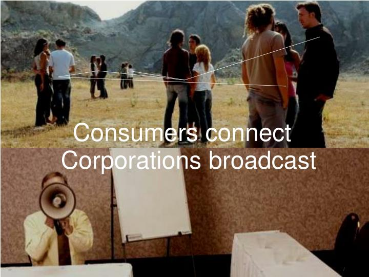 Consumers connect