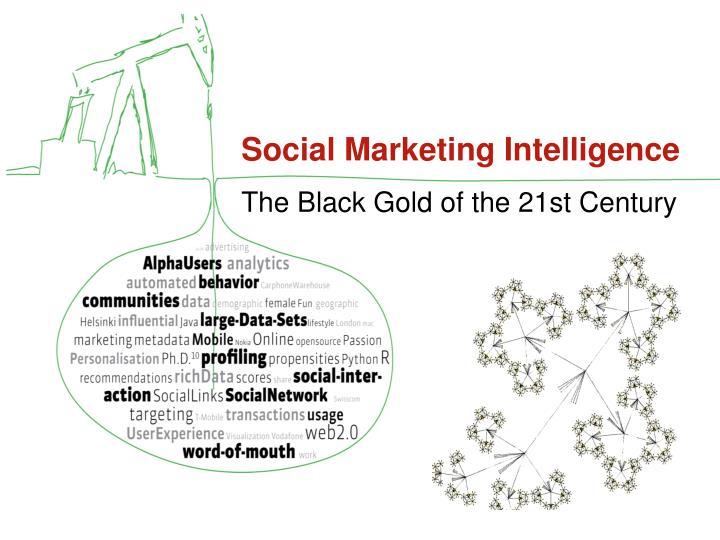 Social Marketing Intelligence