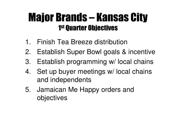Major Brands – Kansas City