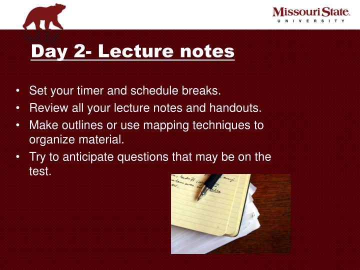 preparing and using outlines to organize your materials Steps of preparing a speech to organize your thoughts using your outline as a guide, refer to your organized research notes.