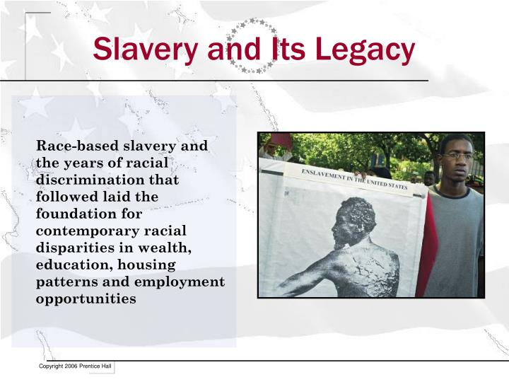 Slavery and its legacy
