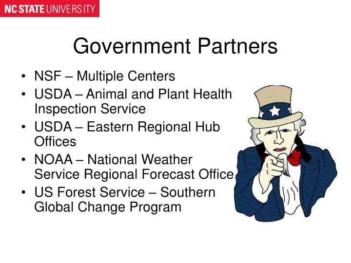 Government Partners