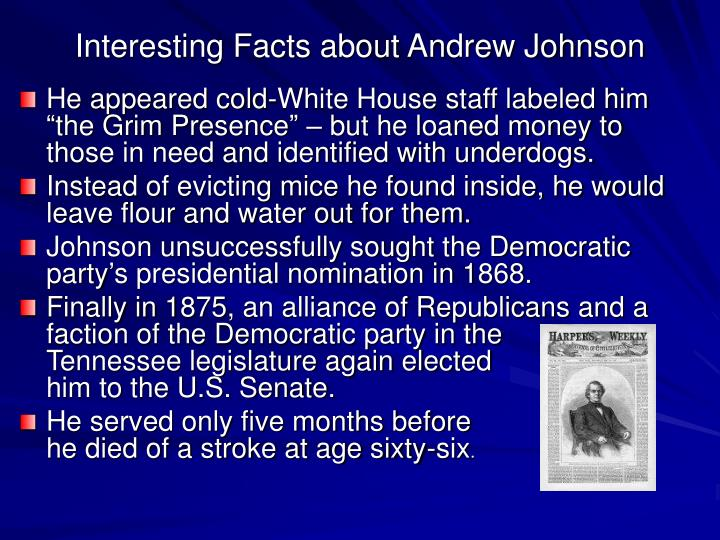 Ppt presidents of tennessee powerpoint presentation id for Fun facts about the presidents