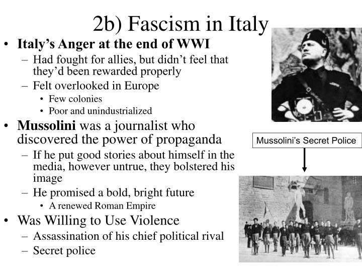 Mussolini's Secret Police
