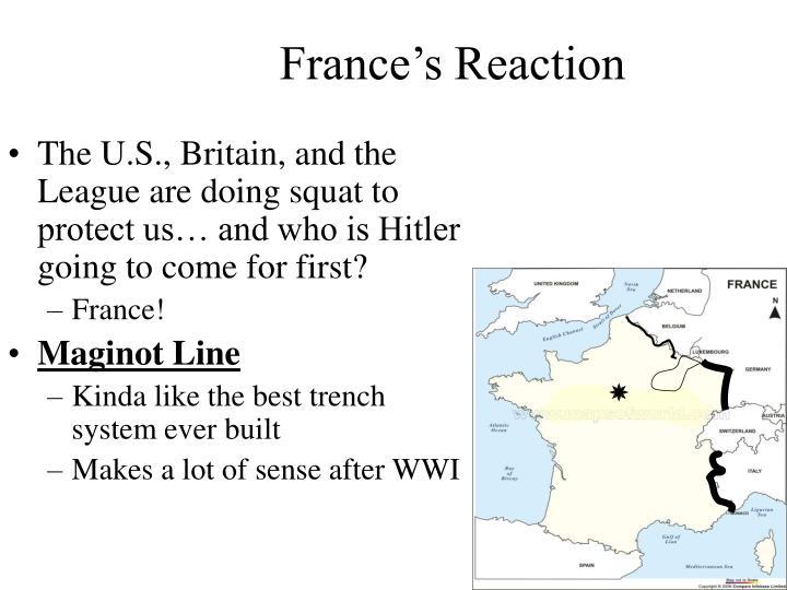France's Reaction