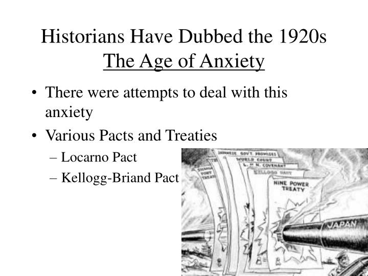 Historians Have Dubbed the 1920s