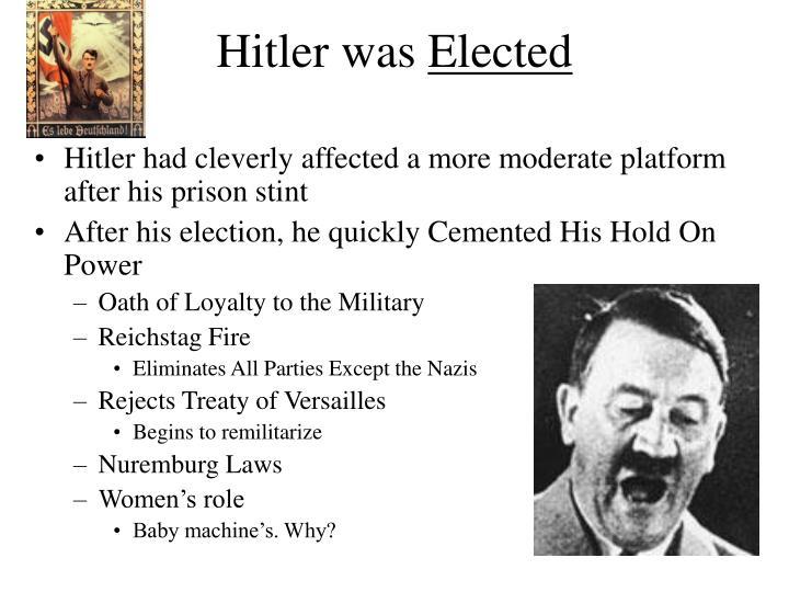 Hitler was