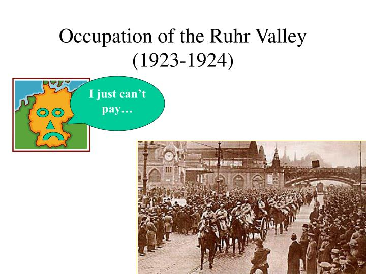 Occupation of the Ruhr Valley (1923-1924)