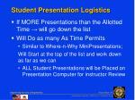 student presentation logistics1