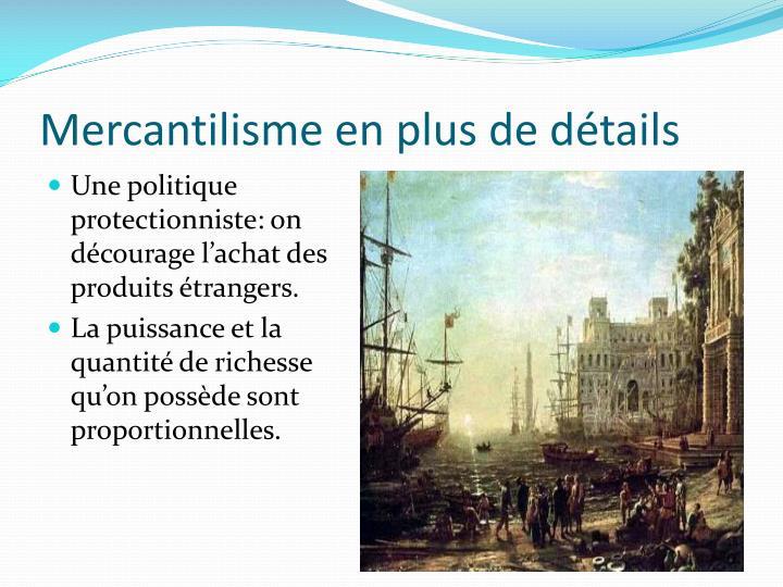 Mercantilisme
