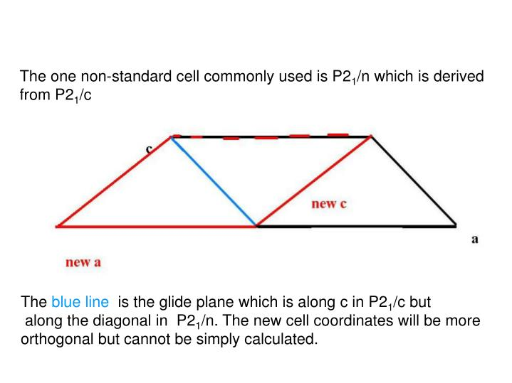 The one non-standard cell commonly used is P2