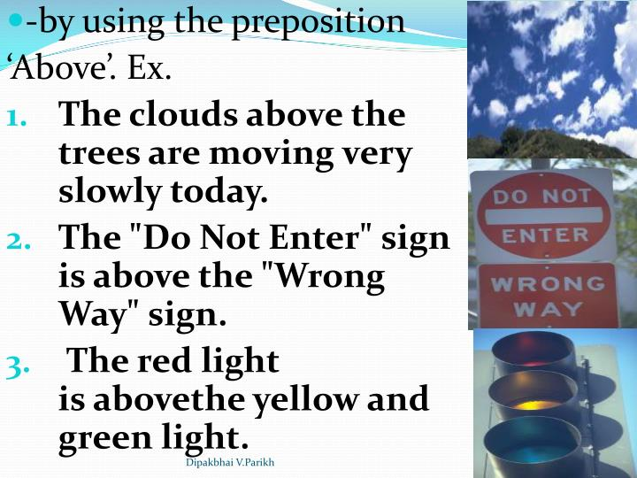 -by using the preposition