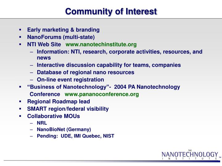 Community of Interest