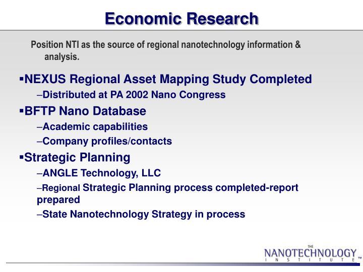 Economic Research