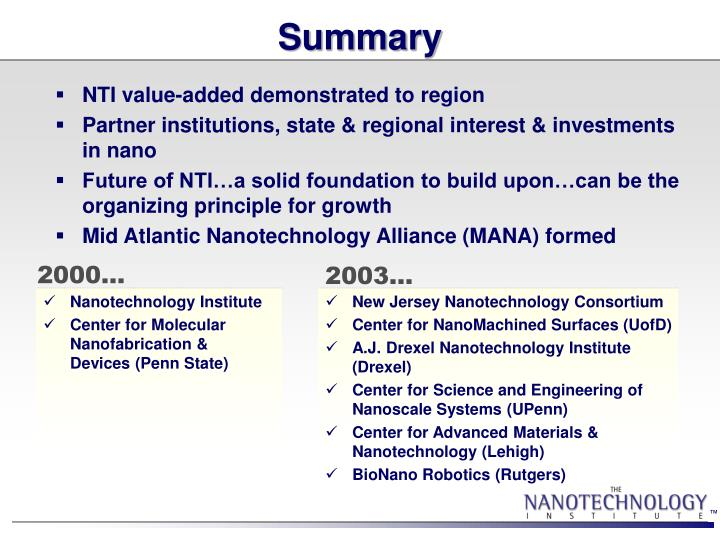 New Jersey Nanotechnology Consortium