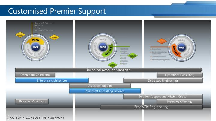Customised Premier Support