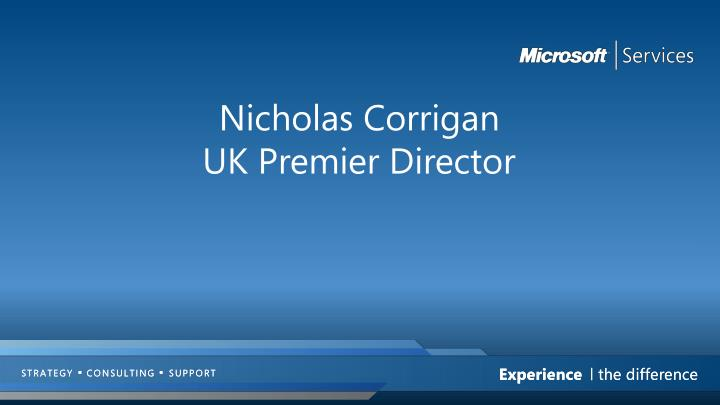 Nicholas Corrigan