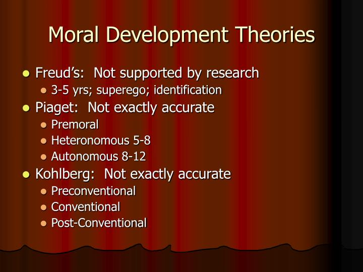 Moral Development Theories