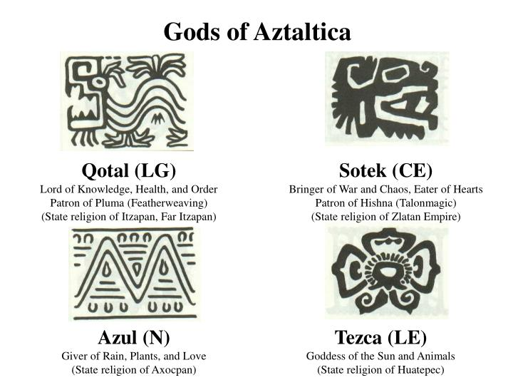Gods of Aztaltica
