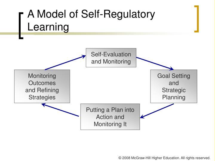 A Model of Self-Regulatory Learning