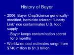 history of bayer8