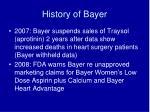 history of bayer9