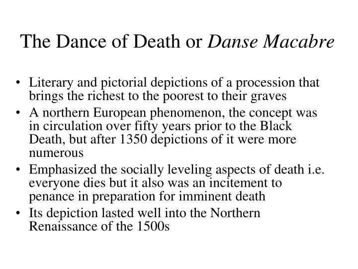 The Dance of Death or