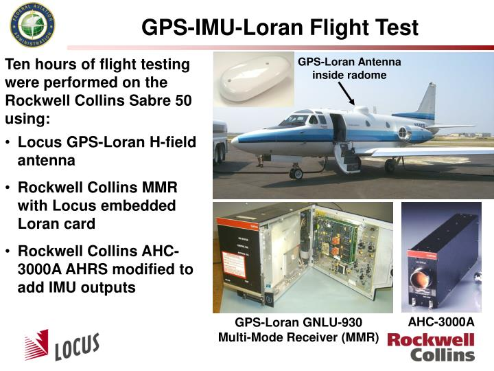 GPS-IMU-Loran Flight Test
