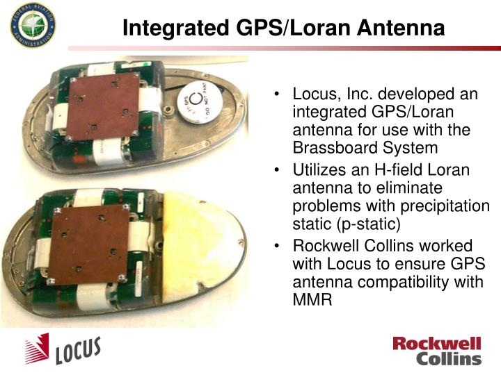 Integrated GPS/Loran Antenna