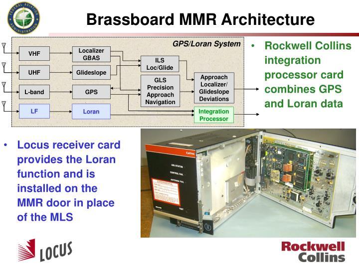 Brassboard MMR Architecture