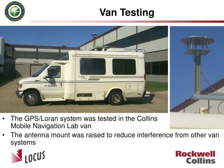 Van Testing