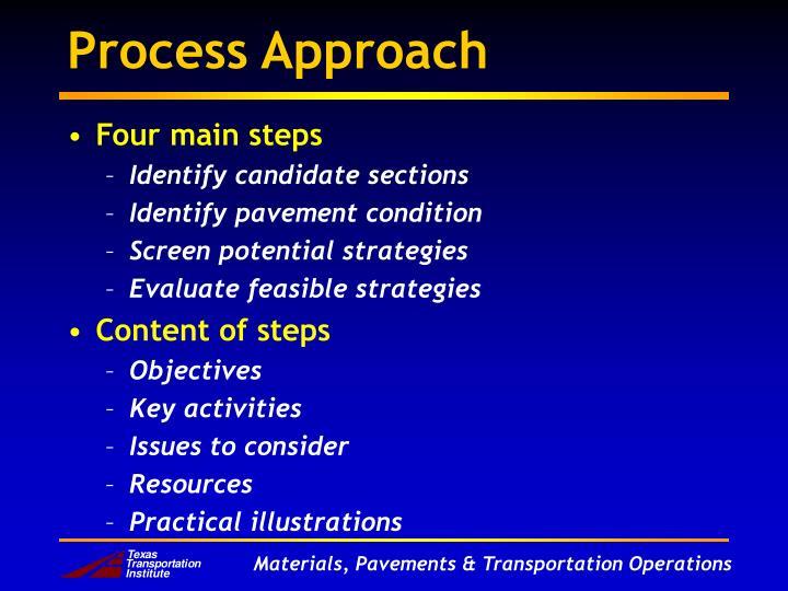 Process Approach