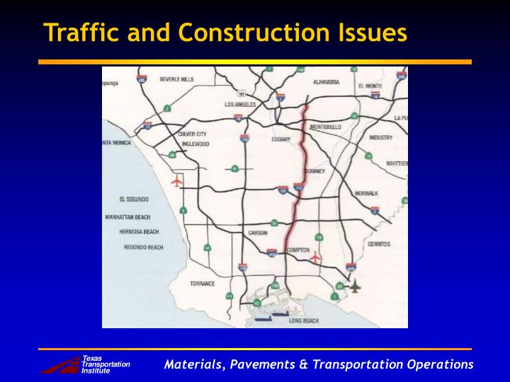 Traffic and Construction Issues