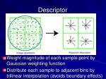 descriptor1