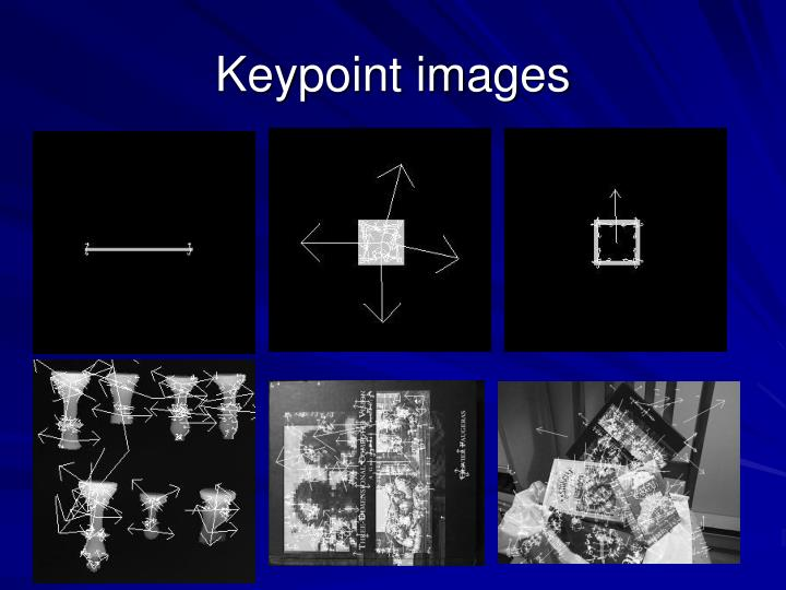 Keypoint images