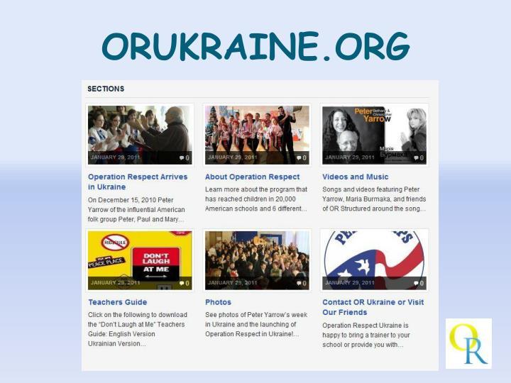 ORUKRAINE.ORG
