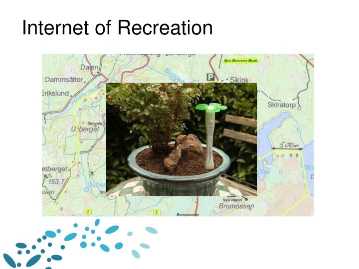 Internet of Recreation