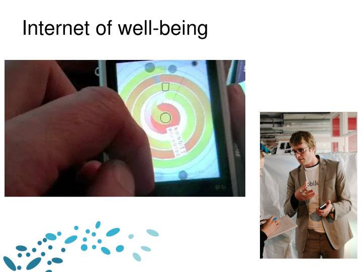 Internet of well-being
