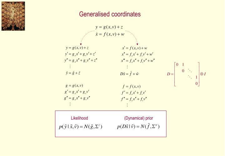 Generalised coordinates