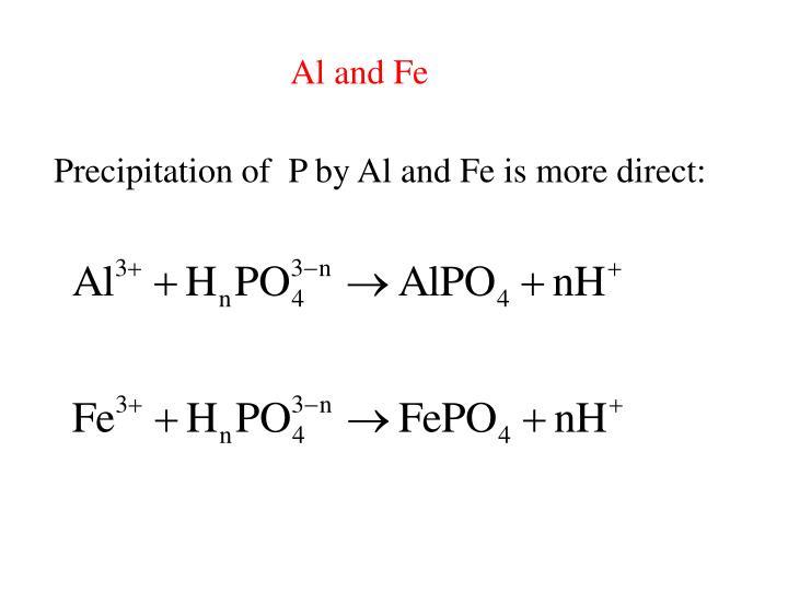 Al and Fe