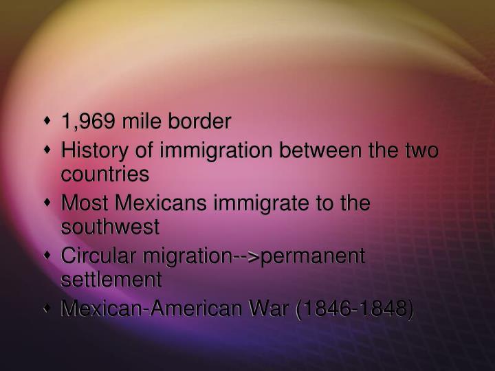 1,969 mile border