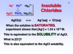 insoluble chlorides2